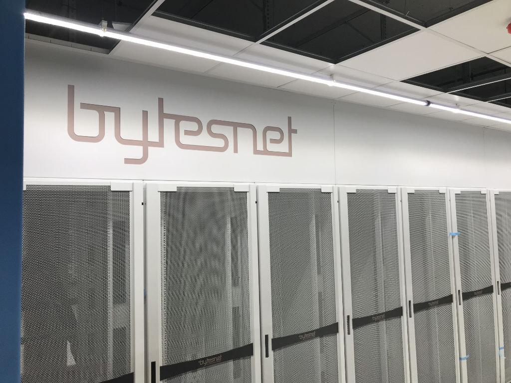 Bytesnet koude straat datacenter